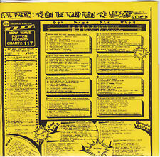 """Ral Pheno with Psycotic Pineapple-On The Ward Again 7"""" 1980 OUTSIDER Garage"""