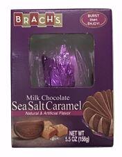 1X Brach's Milk Chocolate Sea Salt Caramel Flavored Orange Ball 5.5 oz X-07/2020