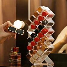 Acrylic Makeup Organizer Storage Box Cosmetic Lipstick Box Case Holder 16/28Grid