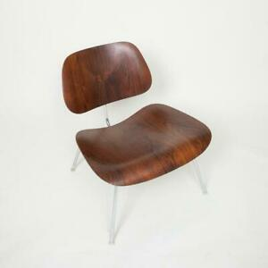 1960s Herman Miller Eames LCM Lounge Chair Molded in Rare Brazilian Rosewood