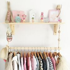 Childrens bedroom nursery Clothes Rail/Rack Display Hanger. RAIL ONLY!
