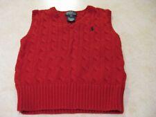 Polo Ralph Lauren Sweater Vest Boys Kids 3/3T