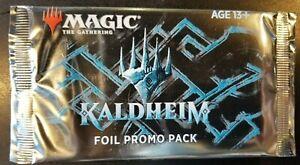 MTG - Kaldheim Foil Promo Pack FACTORY SEALED