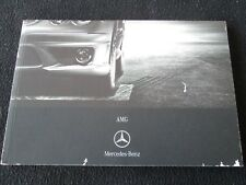 2007 Mercedes AMG German Brochure S65 R63 SL55 CL63 E63 G55 S63 ML63 CLK Catalog