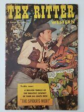 Tex Ritter Western (1952) #9  Comic book