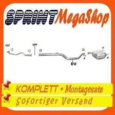 Auspuff Opel Vectra C 1.6 1.8 16V 02-09 Schrägheck Stufenheck Auspuffanlage //375