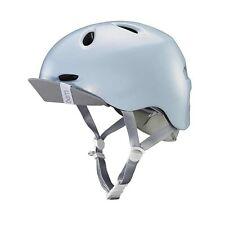 New Bern Berkeley Women Helmet Bicycle Snow Sports Satin Blue M/L 55.5-59cm