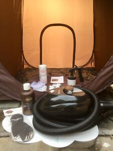 Spray Tanning System with Tent