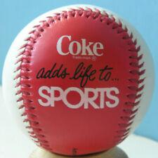 Coke Adds Life to Sports Souvenir Collectible Baseball Ball
