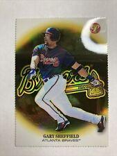 Topps Gary Sheffield Gold Refractor Atlanta Braves Short Print /70 SP Rare Card