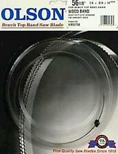 NEW Olson Band Saw Blades for Bench Top Saws WB55356BL (1 Ct) - Delta & Pro Tech