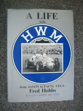 A LIFE WITH  HWM   FROM ASTON TO FACEL VEGA  BY FRED HOBBS,1990