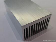 Large Aluminium Heatsink - Electronics / Amplifier / Audio Projects 120x70x45mm.