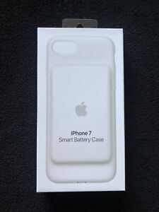 Apple iPhone 7 8 smart battery case White