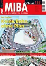 MIBA Spezial 126 - Keine Bahn ohne Plan