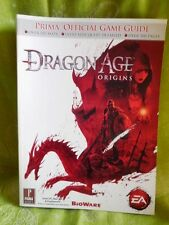 Dragon Age Prima Games XBox 360 Play Station 3 2009 Strategy Guide 18+ ages
