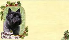 Cairn Terrier Christmas Labels by Starprint - No 2