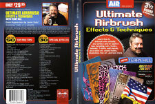 Airbrush Action DVD-ULTIMATE Aerógrafo técnicas con Terry Hill
