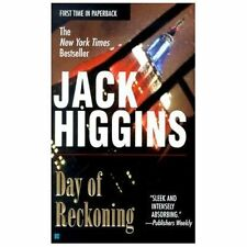 Day of Reckoning by Jack Higgins (Sean Dillon #8)  (2001, Paperback) GG789