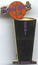 Hard Rock Cafe LOS ANGELES 2001 LA LAKERS NBA Champions GOLD Trophy PIN