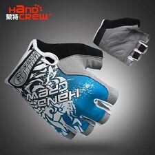 Blue Fashion Cycling Bike Bicycle Women Wearable Sports Half Finger Glove S/M/L