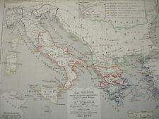 LA GRECE & L'ITALIE 1190 à 504 av JC