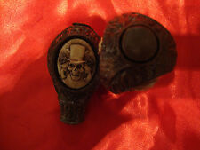 Caminar stick/cane / handle/3 sided/skeleton ~ Guns And Roses