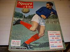 SPORT & VIE 66 11.1961 SALON de l'AUTO CYCLISME ANQUETIL FOOT RENNES CUISSARD