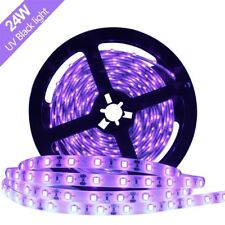 5M/16.4ft 3528 SMD Blacklight UV/Ultraviolet 395nm-405nm LED Light Strip