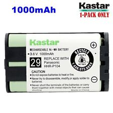 1xKastar Cordless Phone Battery NI-MH 3.6V 1000mAh For Panasonic HHR-P104 Type29