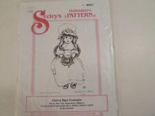 "Seeley's Dollmaker Pattern Mp 47 ""Cherry Ripe Costume"""