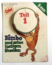 Film 8mm ds Son Emballage Bimbo le singe (Film Animalier) An.1960