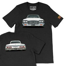 Your Custom Classic Car T-shirt,1964 Chevy Impala SS, Men's T-shirts Made in USA