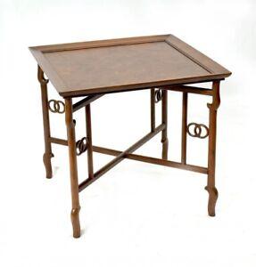 Baker Burlwood occasional table
