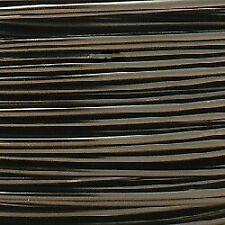 Fil Aluminium Ø2mm Couleur Noir (x 1m)