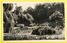 Postkarte Allemagne SARREBRÛCK SAARBRÛCKEN en 1956 Dudweiler Park Bandonéon