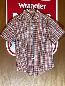 Kids Wrangler Riata short sleeve shirt  5/6