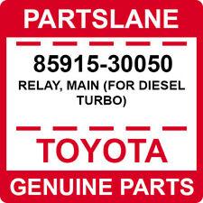 85915-30050 Toyota OEM Genuine RELAY, MAIN (FOR DIESEL TURBO)