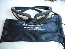 Global Vision Foam Padded Sunglasses Kickback 24 with bag