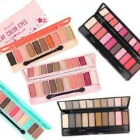 10 Color Eyeshadow Eye Shadow Palette Makeup  Make Up fessional Matte-Glitter