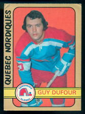 1972-73 OPC O PEE CHEE WHA #328 GUY DUFOUR VG-EX QUEBEC NORDIQUES Card