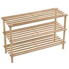 3/4 estantes de listones madera zapatero Almacenamiento Organizador Vertical