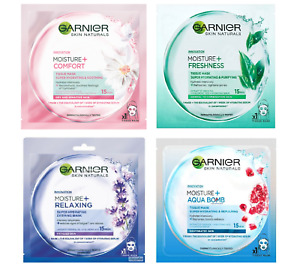 Garnier Moisture Bomb Tissue Face Mask Hydrating & Soothing Effect - Choose