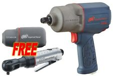 "Ingersoll Rand #2235TiMAX: 1/2"" Impact Wrench w/ FREE 1/4"" Ratchet & Boot!"