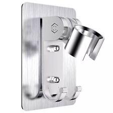 aluminum adjustable bathroom shower head holder stand bracket wall mount hook