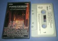 THE LONDON EVANGELIST BRASS ENSEMBLE HYMNS FOR BRASS cassette tape album T5702