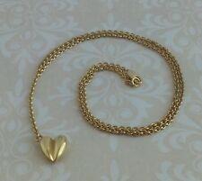 BARRY KIESELSTEIN CORD 18K SOLID GOLD ELEGANT LARIAT Y HEART DIAMOND NECKLACE