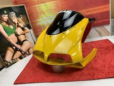 ☠️94-02 DUCATI 748/916/998 Yellow Front Upper Nose Cover Fairing Windshield☠️
