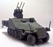 Milicast G285 1/76 Resin WWII German Armoured SdKfz 11 w/Flugawehr 20mm MG151/15