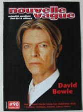 MAGAZINE NOUVELLE VAGUE - NOVEMBRE 2003 - DAVID BOWIE